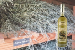 GOLD award for our absinthe Libertine Originale